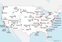Epic American Road Trip Map