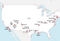 LA to New York Road Trip Map