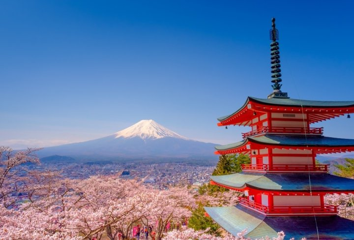 Group travel in Japan