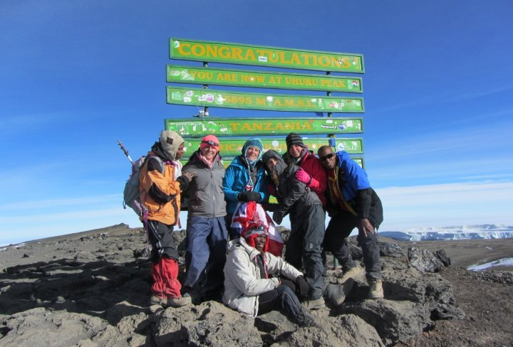 Climb to the top of Kilimanjaro