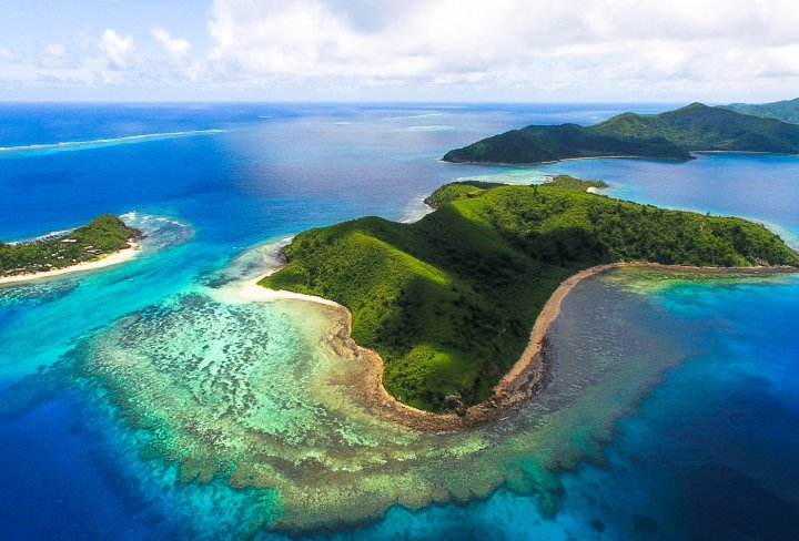 Stunning Fijian islands