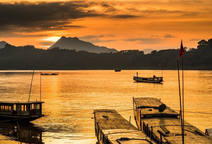 Picturesque Mekong River