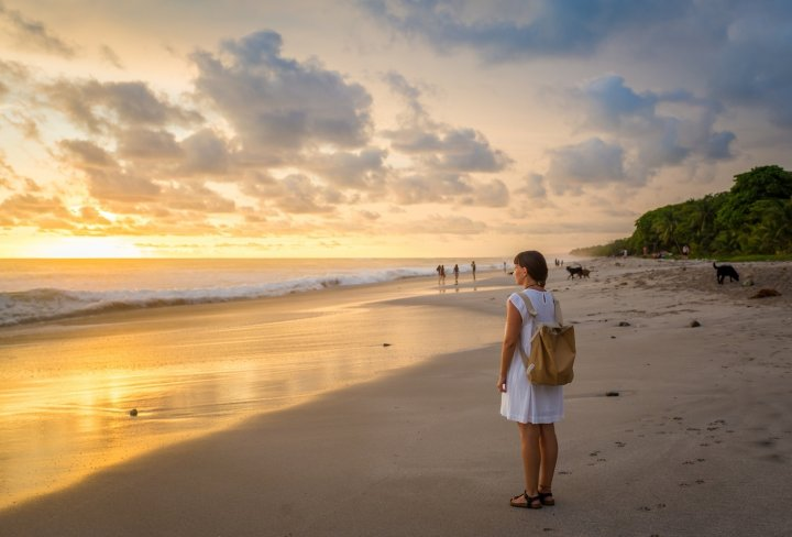 Beautiful sun sets and solo travel - Costa Rica