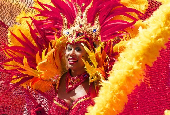 Amazing costumes in the Rio Carnival
