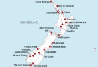 Ultimate New Zealand Work & Travel Map