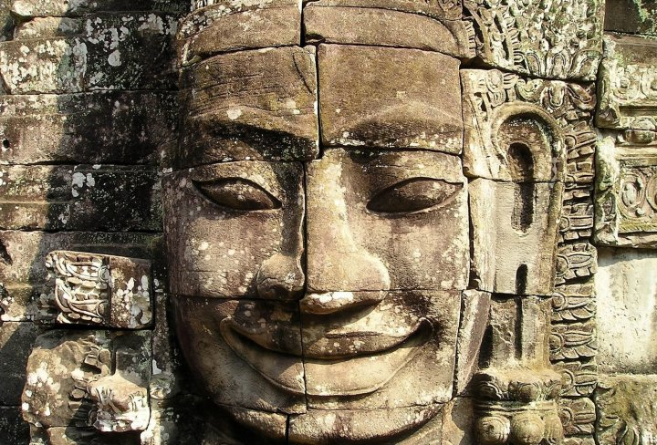 Bayon Temple smiling face