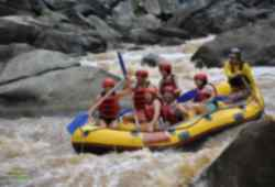 White water rafting adventure on Tully River, Cairns