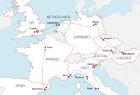 European Rail Discovery Map