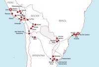 Lima to Rio Experience Map