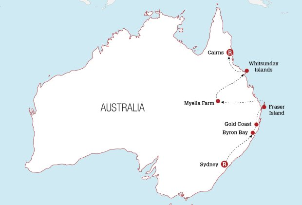 East Coast Tour Sydney to Cairns | Real Gap Experience