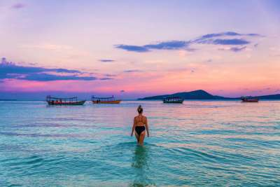 Stay on the stunning island of Koh Rong in Cambodia
