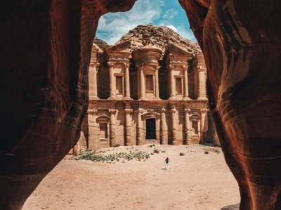 Explore the city of Petra in Jordan